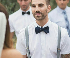 formal, white, and men image