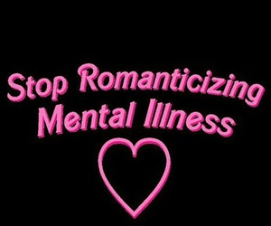 aesthetic, mental illness, and pink image