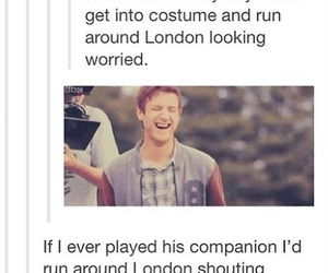 doctor who, funny, and london image