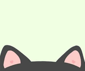cat, background, and kawaii image