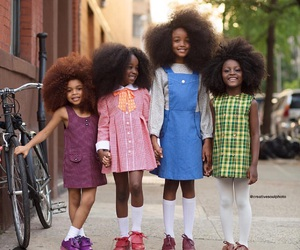 Afro, child, and kids image