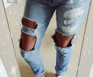 Bleu and jeans image