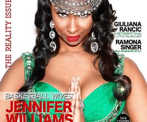 la, basketball wives, and magazine image