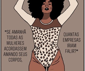 body, feminist, and mulher image