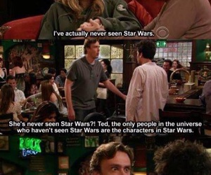 how i met your mother, star wars, and funny image