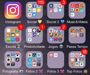 iphone, layout, and ios image