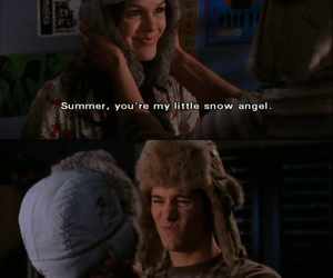 the oc, summer, and seth cohen image