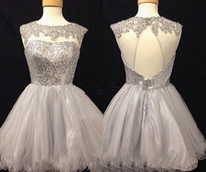 homecoming dresses, party dresses, and short prom dresses image