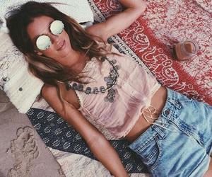 fashion, boho, and beach image