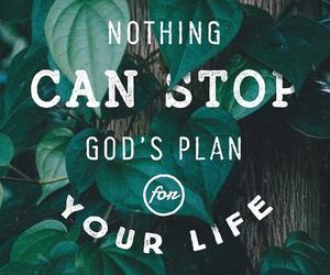 god, plan, and jesus image