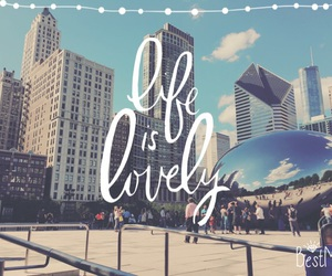 chicago, lovely, and life image