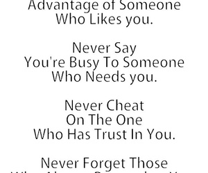 quotes, never, and trust image