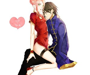 sasusaku, sakura haruno, and anime image