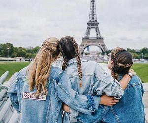 friends, paris, and best friends image