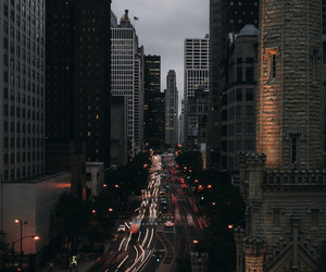 city, lights, and travel image