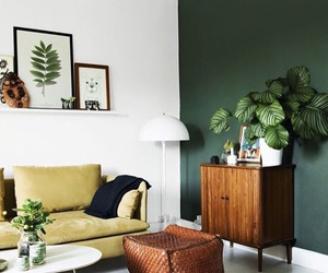 interior, green, and home image