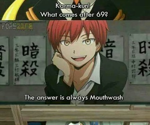 anime, funny, and assassination classroom image