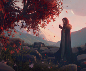 fantasy, art, and woman image
