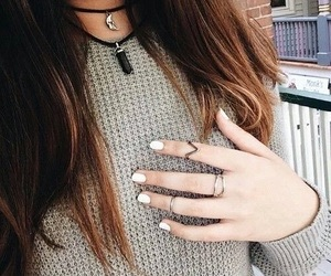 fashion, hair, and rings image