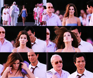sandra bullock, michael caine, and miss congeniality image