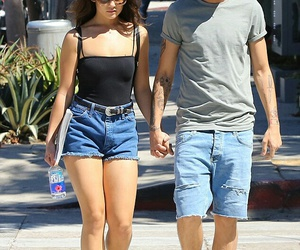 actress, couple, and danielle campbell image