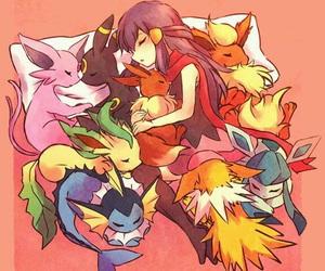 pokemon, dawn, and umbreon image