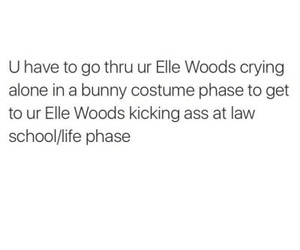 elle woods, life, and quote image