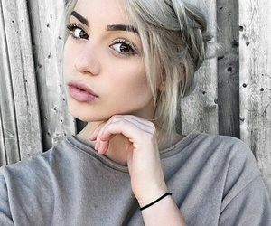 girl, hair, and kristen hancher image