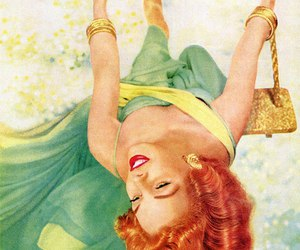 art, Pin Up, and gingerhair image
