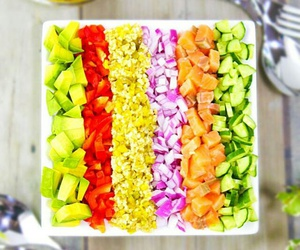 colorful, healthy, and food image