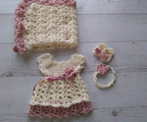 a2cfb64cf 60 images about Crochet (Baby Dress) on We Heart It