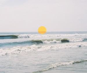 sun, ocean, and sea image