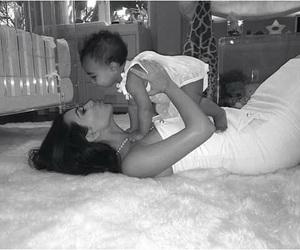 kim kardashian, baby, and north west image