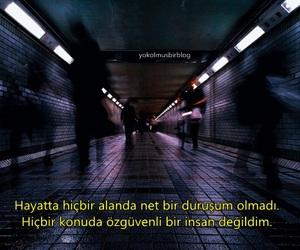 alone, yalnızlık, and türkçe sözler image