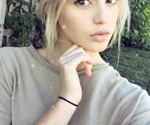 girl, grey, and snapchat image