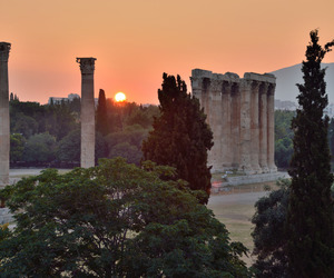 Athens, dawn, and Greece image