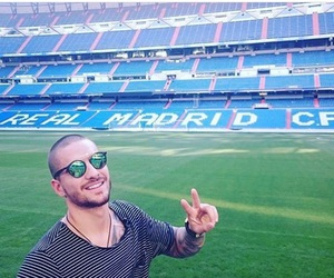 real madrid and maluma image