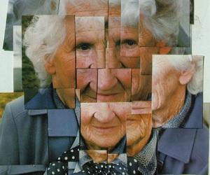 david hockney, Collage, and cubism image