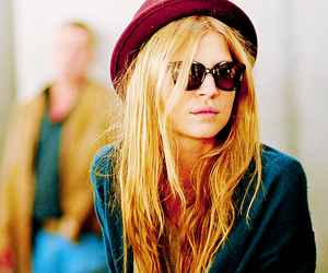 clemence poesy, fashion, and hat image