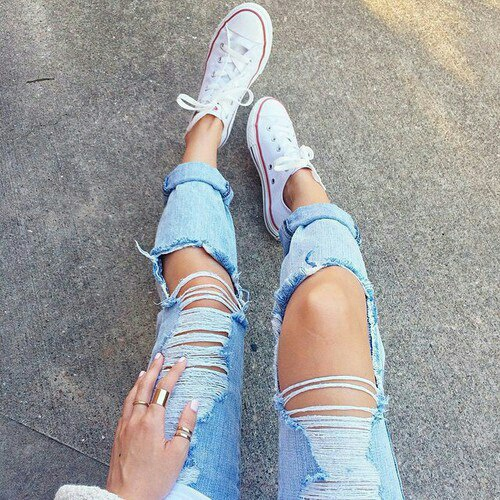 fashion, legs, and pants image