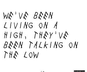 Drake, Lyrics, and music image