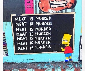 animal rights, simpsons, and animals image