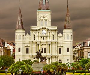 castle, cathedral, and louisiana image