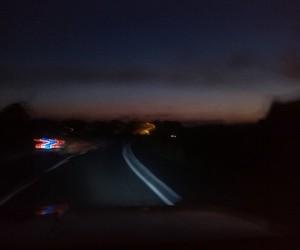night, venezuela, and ride image