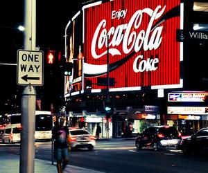 coke, night, and vintage image