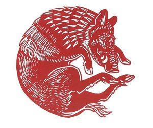 boar, woodcut, and discworld image