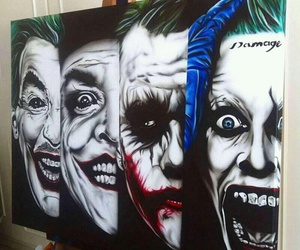 art, jared leto, and paint image