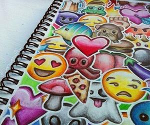 art, emoji, and drawing image