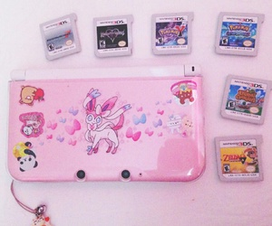 pink, 3ds, and cute image