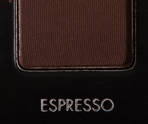 espresso, make up, and brown image